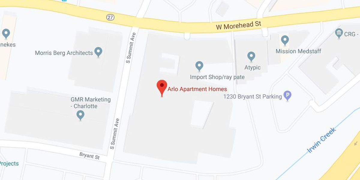 Pipe bursts at apartment complex near uptown, impacting residents