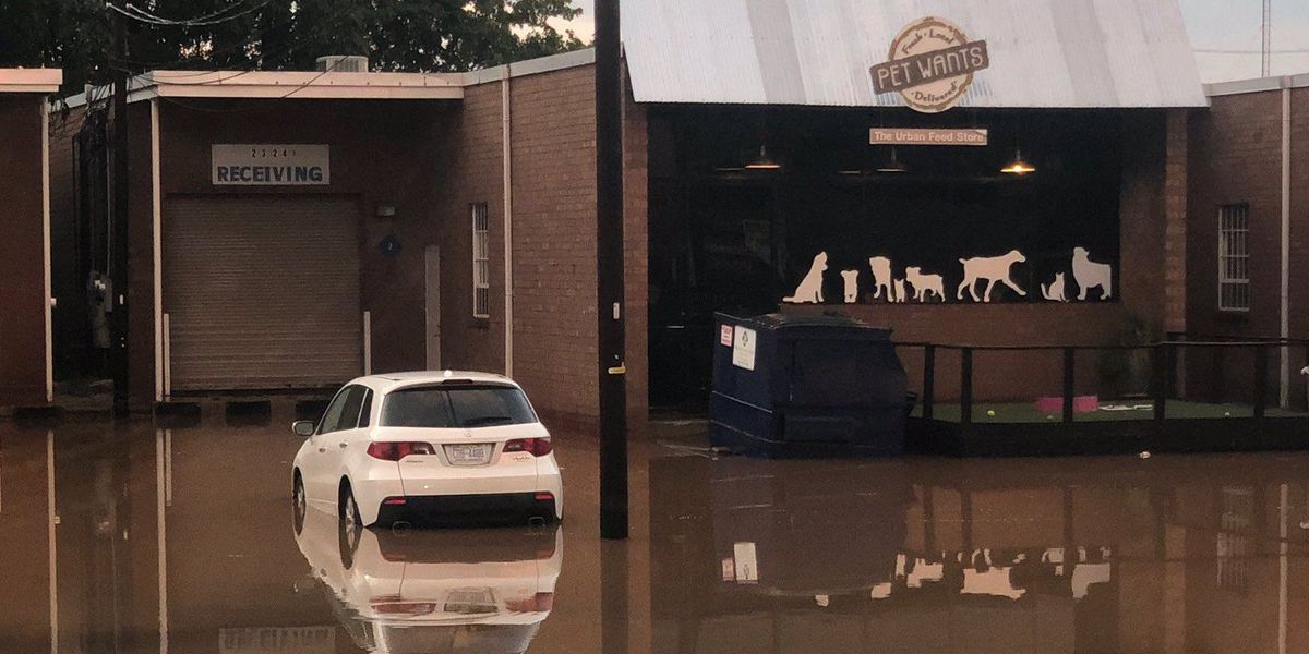 Flash flood waters cause damage to South End businesses