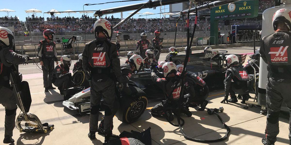 Tough time in Texas for Kannapolis based Haas F1 Team