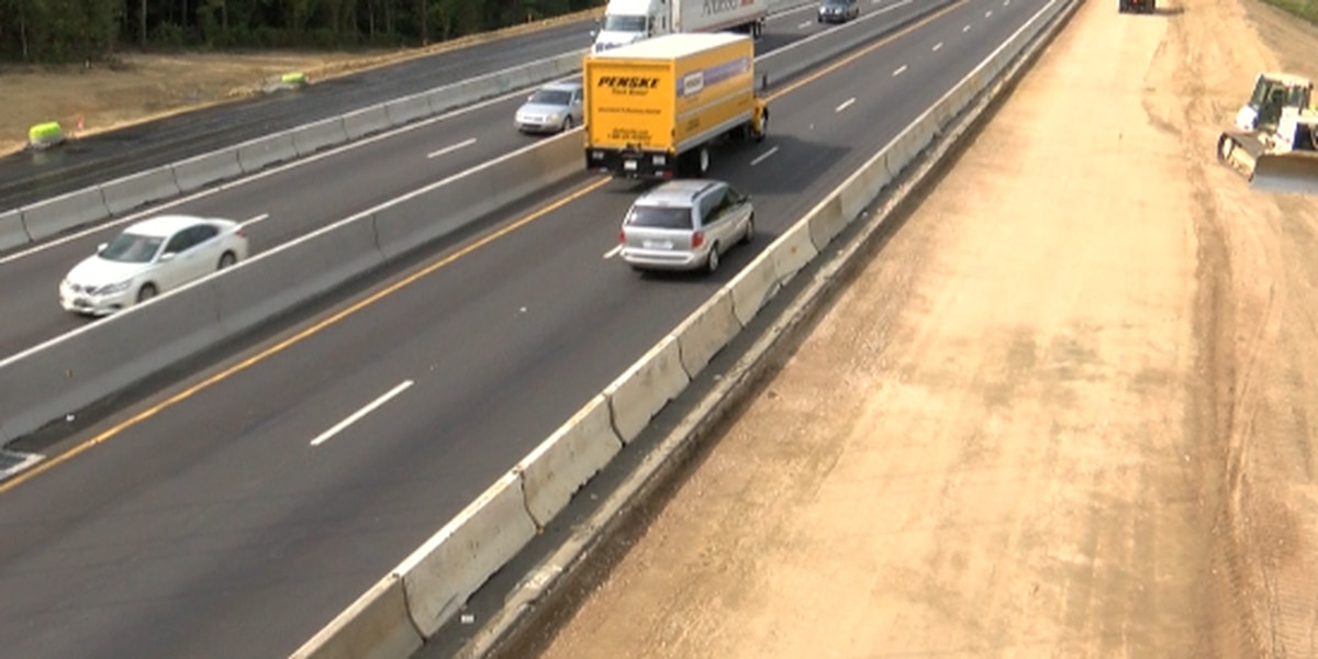 Road closures coming to I-85 Wednesday night into Thursday morning