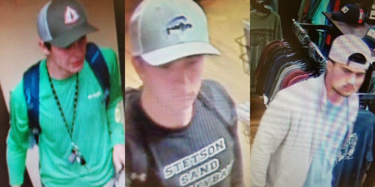 Three people wanted for stealing items from Boone store