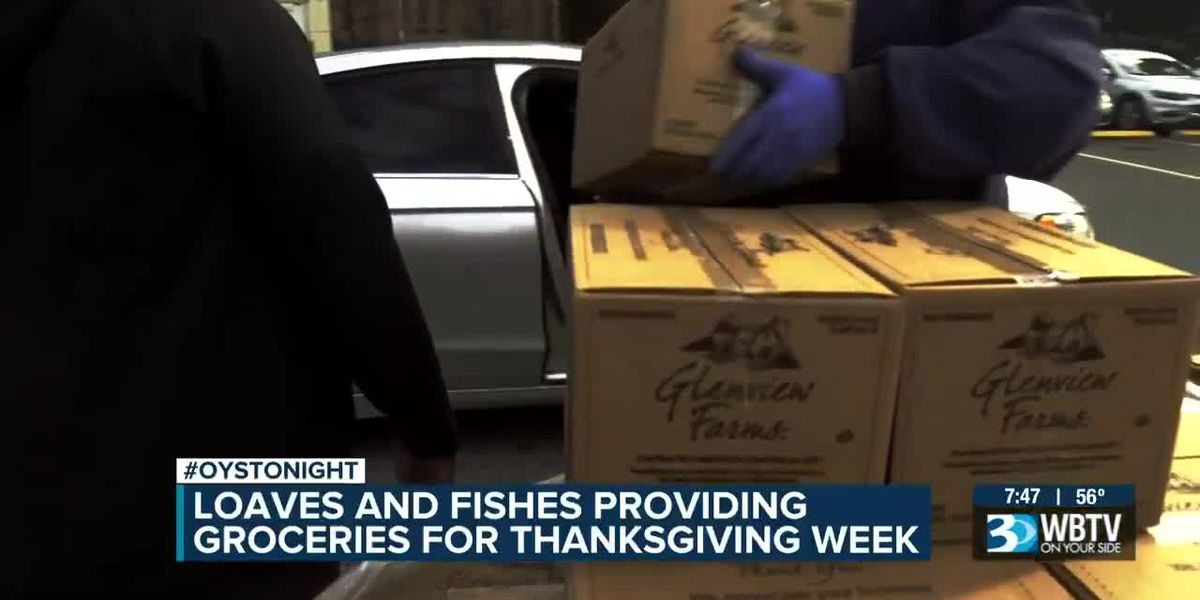 Loaves and Fishes providing groceries for Thanksgiving week