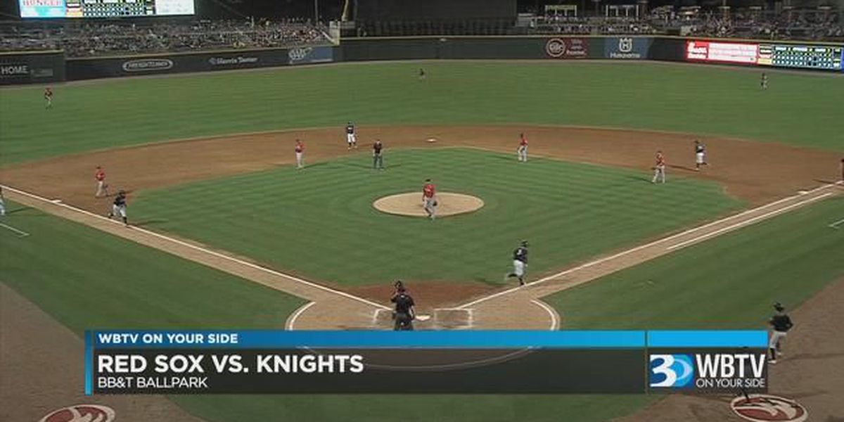 Knights win series finale against Pawtucket 4-3 Thursday