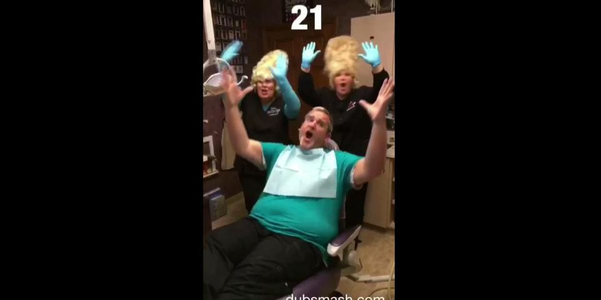 VIRAL: Dentist office staffer dances and lip-syncs with patients