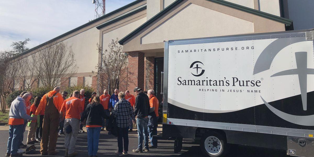 Samaritan's Purse workers, volunteers helping with tornado relief efforts in Tennessee