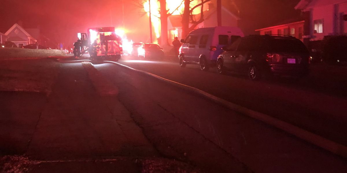 Overnight fire damages home in Salisbury