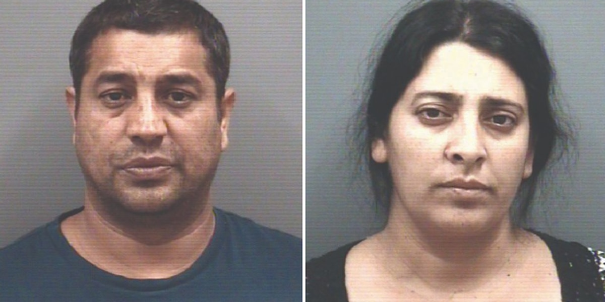 Couple charged with stealing checks from churches