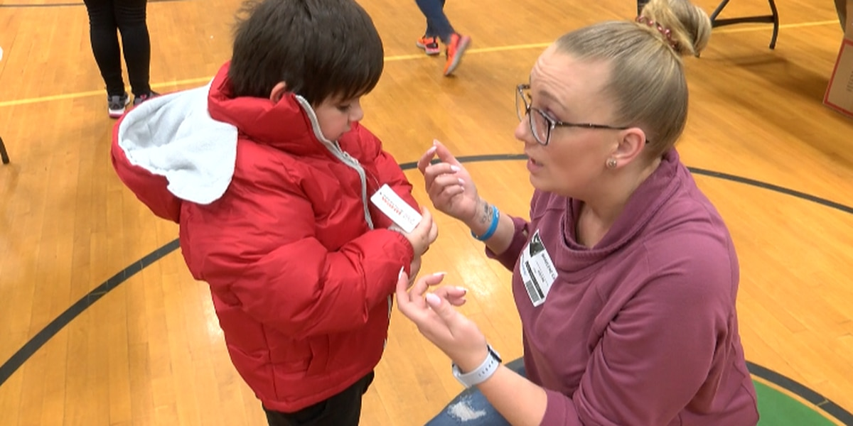 Operation Warm provides free winter coats for every student at Kannapolis elementary school