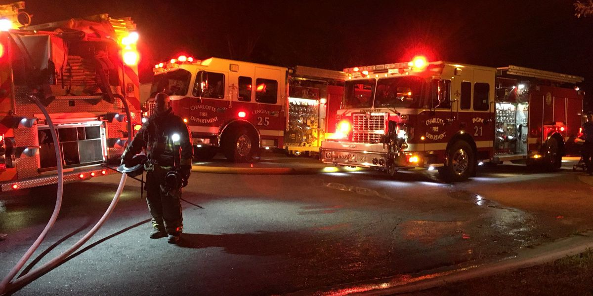 One person dead in fatal house fire in northwest Charlotte