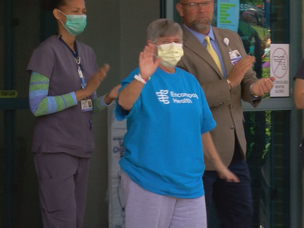 York County paramedic welcomed home after surviving serious case of COVID-19