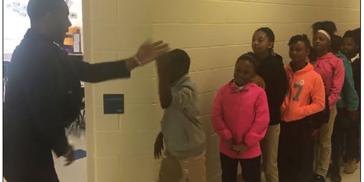 Charlotte's 'Handshake Teacher' goes viral, will appear on Steve Harvey Show
