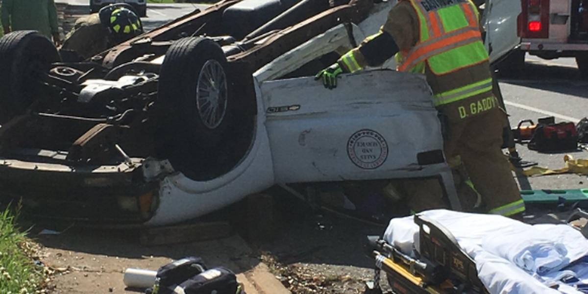 Six injured in Gaston County crash
