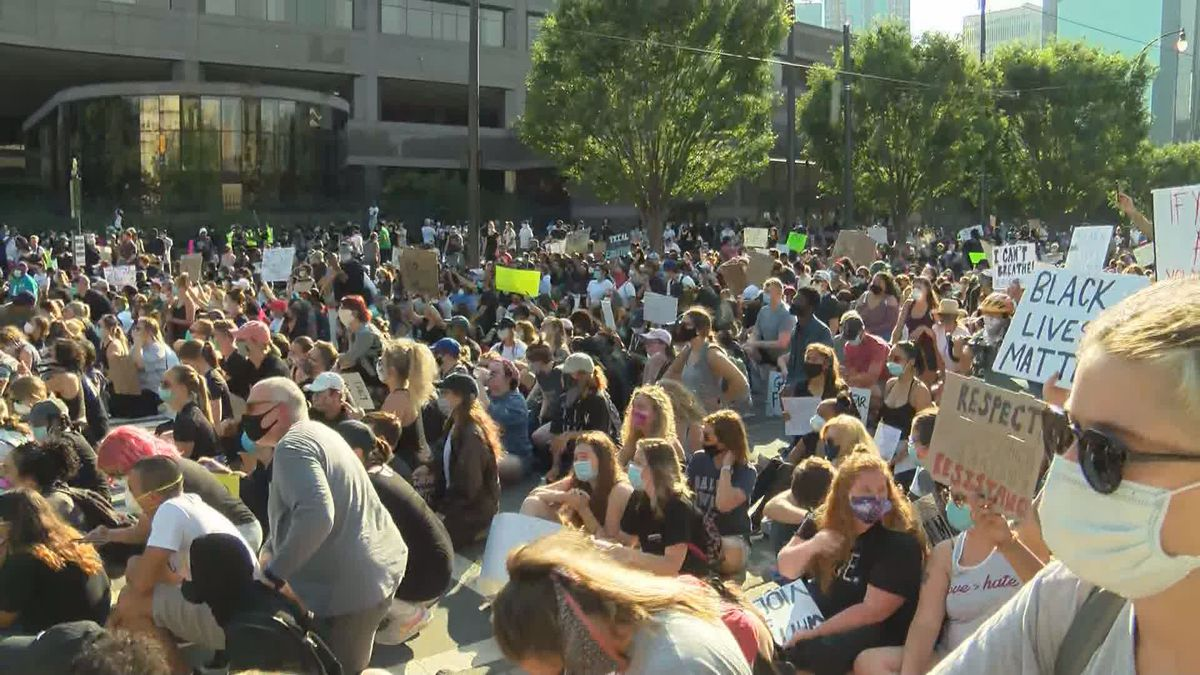 Mecklenburg commissioners show support for protesters, social change