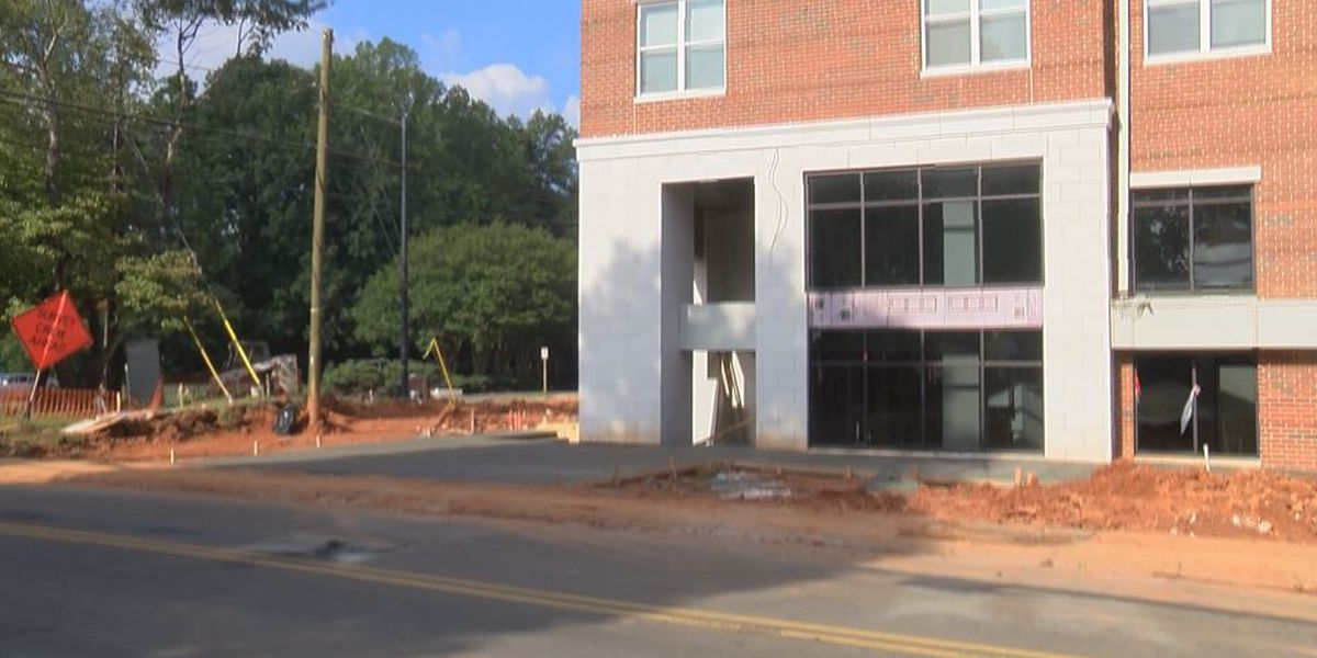 Opening of apartment near UNCC delayed since start of school year
