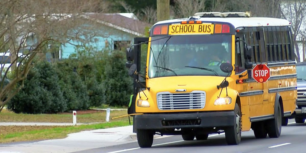 Hundreds of new school buses headed to South Carolina