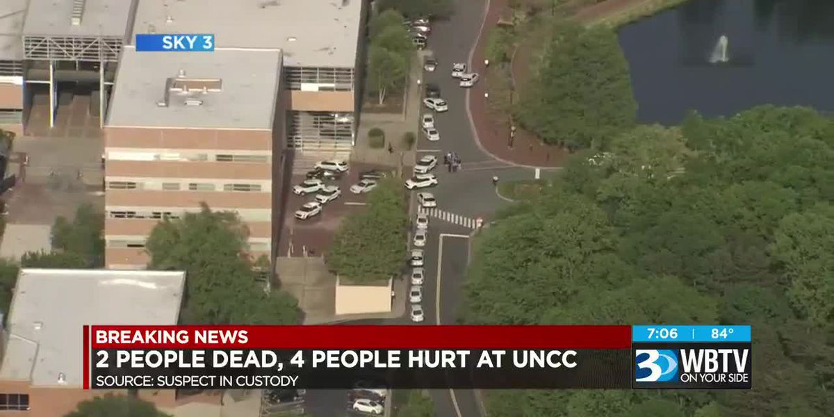 BREAKING: Two killed, four others shot on UNC Charlotte campus