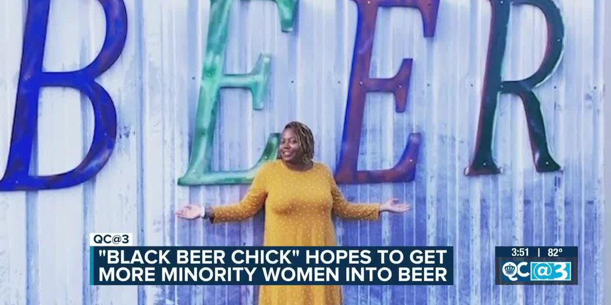 """Black Beer Chick"" Hopes To Get More Minority Women Into Beer"
