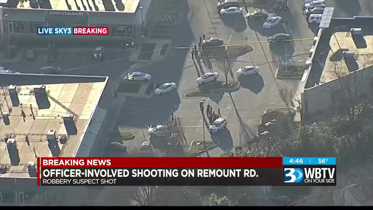 Officer-involved shooting off Remount Rd.