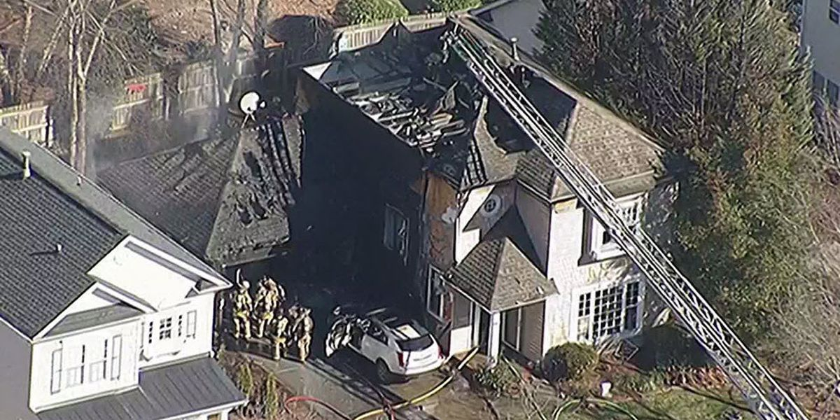Firefighters battle Cornelius house fire that started in garage