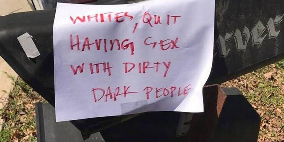 Woman delivers meals to the needy in Charlotte, finds racist note