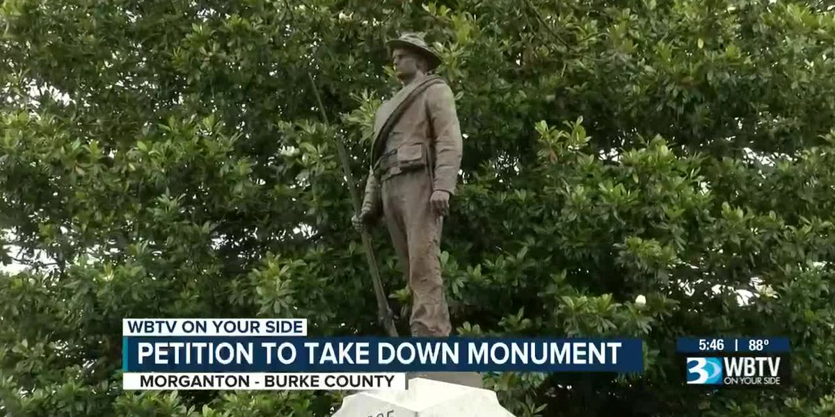 Petition drive aims to take down Confederate monument in Morganton, N.C.