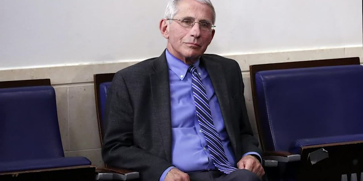 Dr. Fauci warns coronavirus won't be eradicated