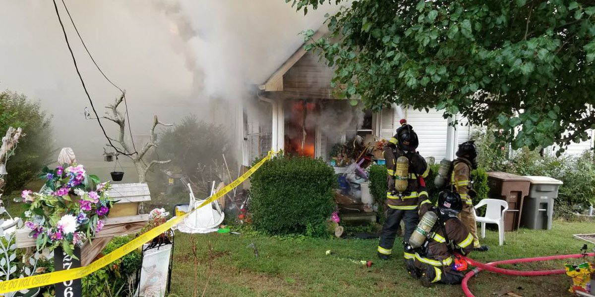 Homeowner displaced after Kannapolis home destroyed by fire