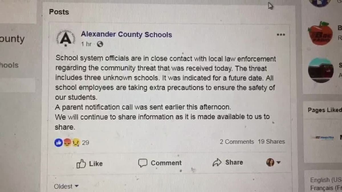 Prison letter reveals threat to 'blow up' several Alexander Co. schools
