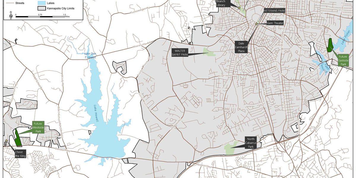 The City of Kannapolis seeks input on new parks