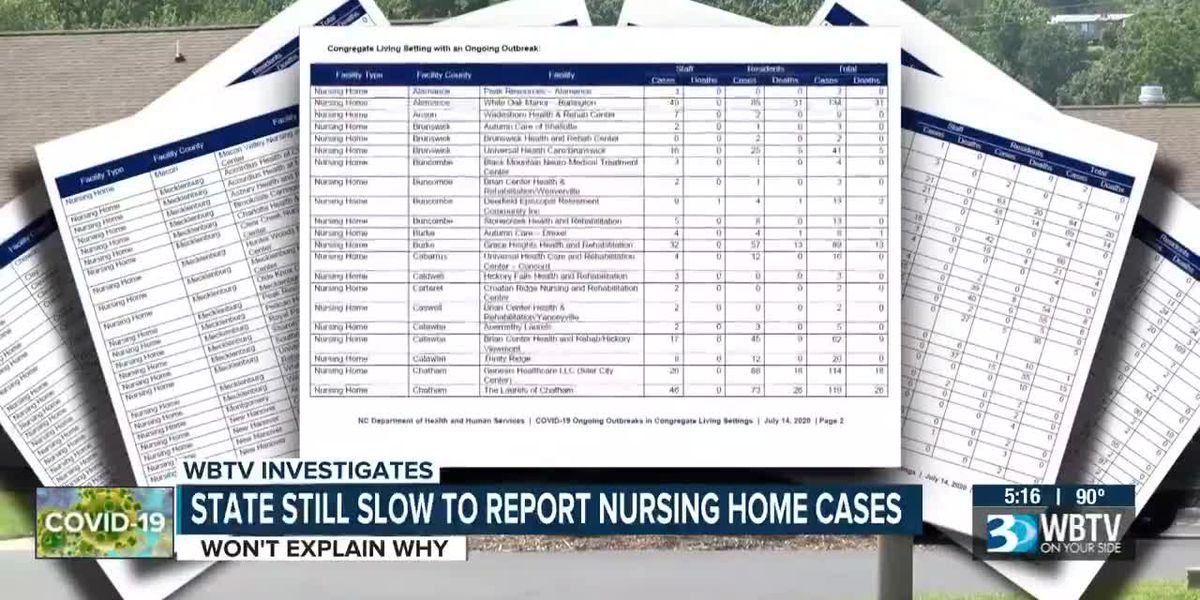State still slow to report nursing home cases