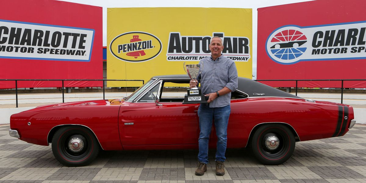 Jancic's 1968 Dodge Charger claims Best of Show at Pennzoil AutoFair