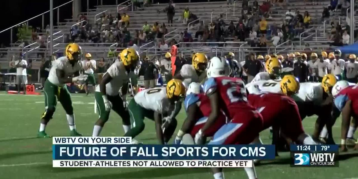 CMS student-athletes hope tonight's school board meeting sparks action to create a fall sports plan