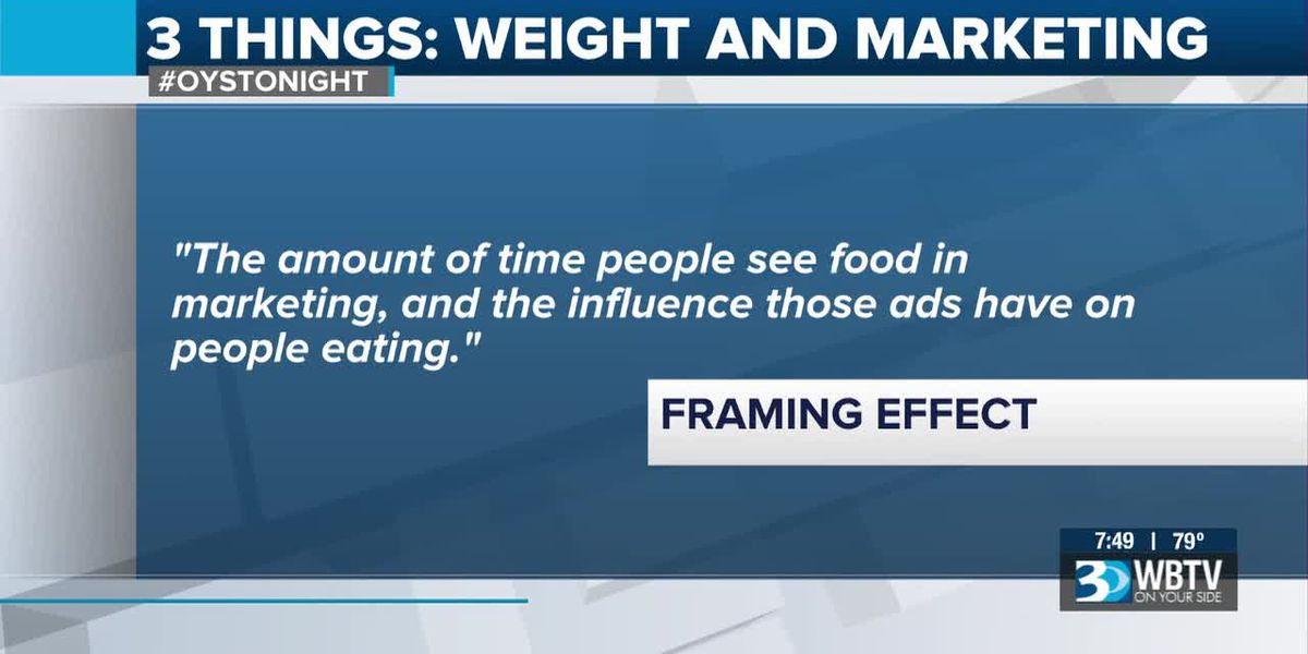 3 Things: Food marketing and weight gain
