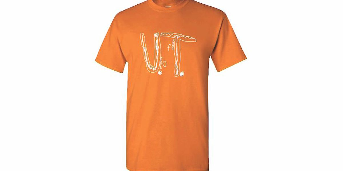 Bullied boy's homemade University of Tennessee T-shirt design becomes official apparel