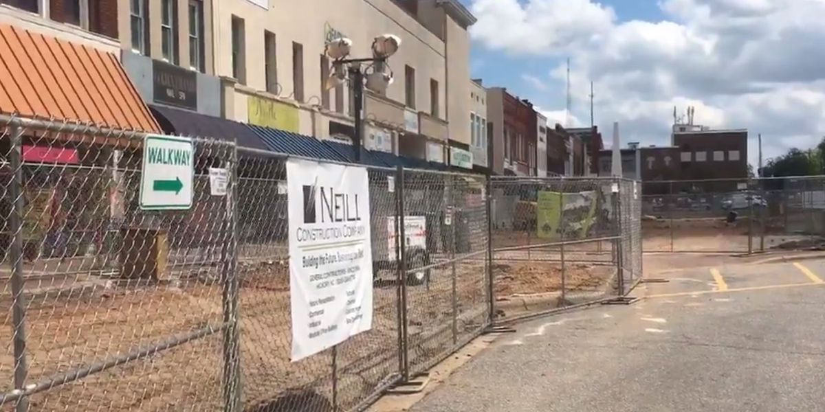 Hickory Union Square businesses trying to survive construction zone