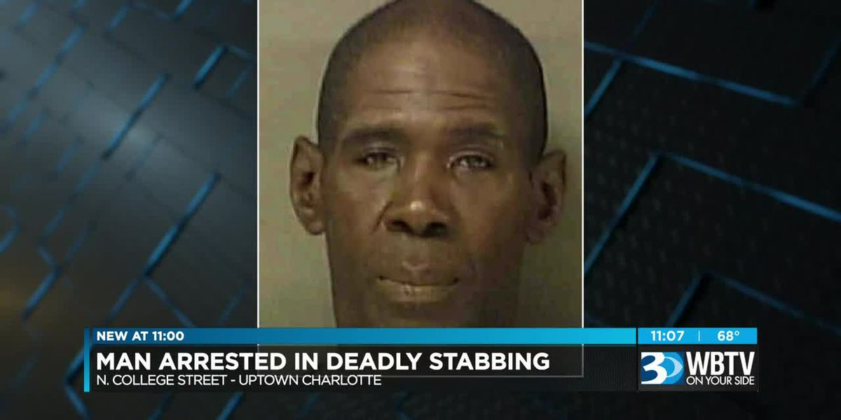 Man arrested, accused of stabbing woman to death in uptown Charlotte
