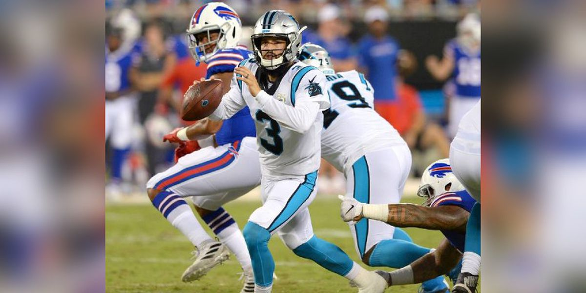 Panthers never get on track, lose sloppy home preseason opener to Bills