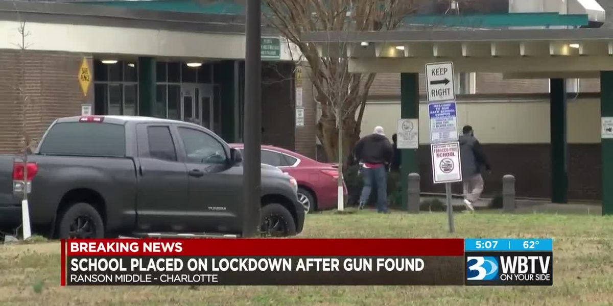 Gun found on middle school campus leads to lockdown