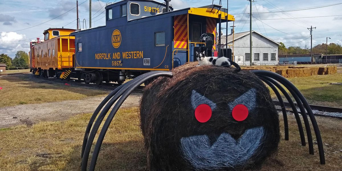 N.C. Transportation Museum's Halloween Train rolls out this weekend and next
