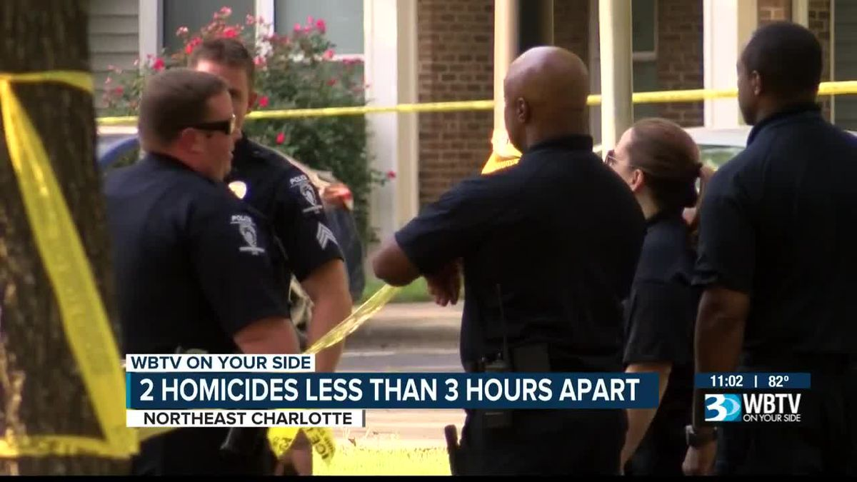Police investigate third Charlotte homicide in less than 24 hours