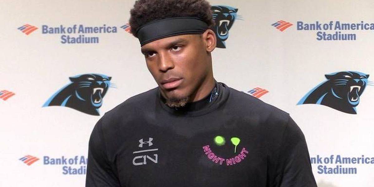 Panthers' Cam Newton, asked about lack of big plays, abruptly leaves news conference