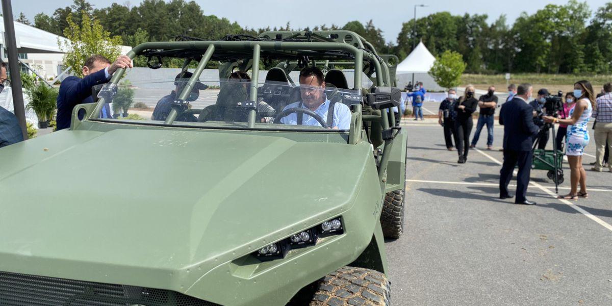 GM defense facility opens in Concord