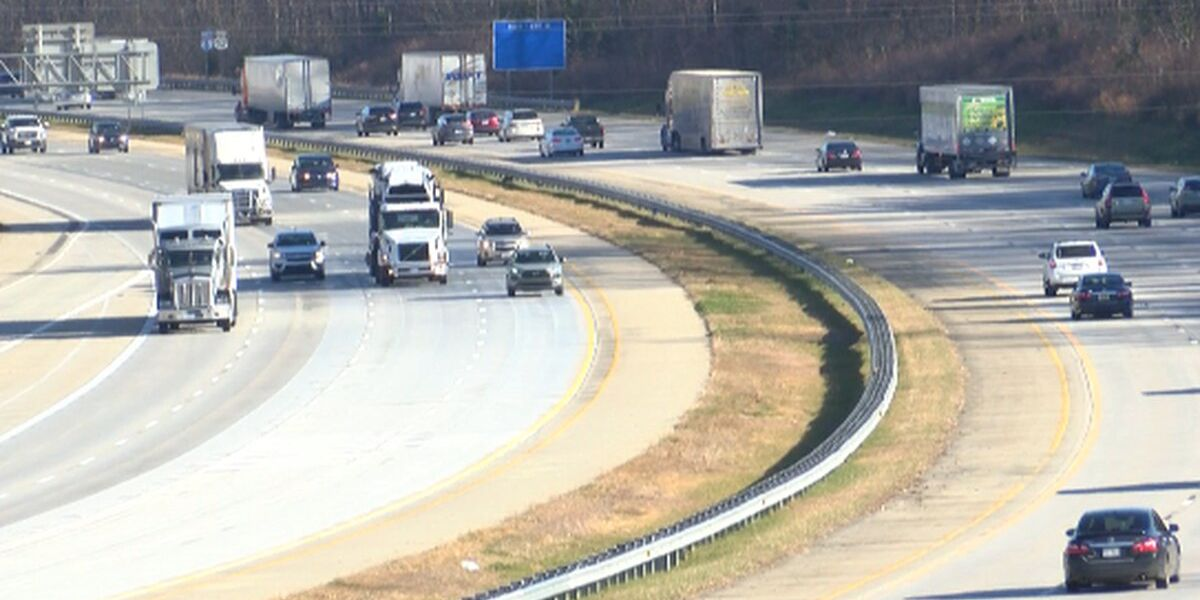 Lane and ramp closures happening on I-85 this week