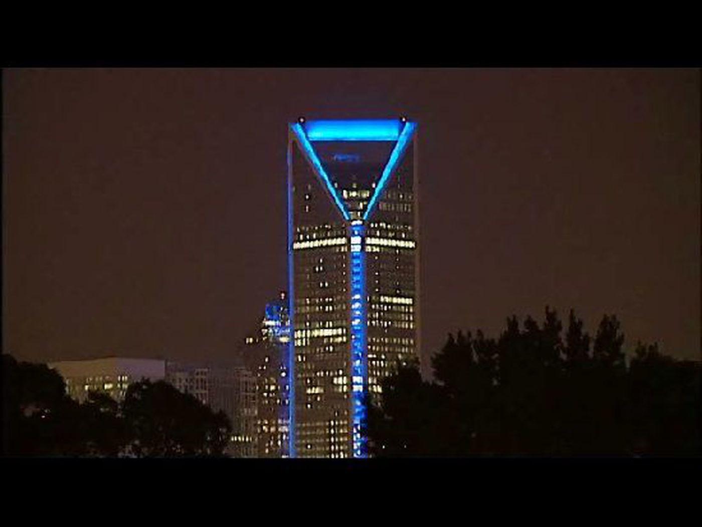 Duke Energy Building Lights