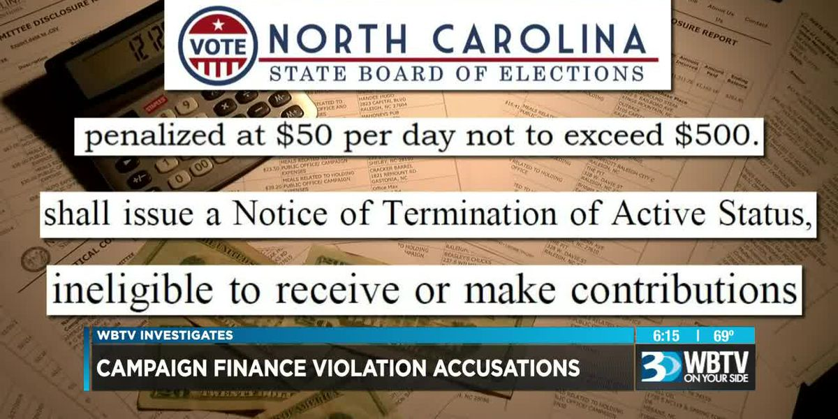 Campaign finance violation accusations