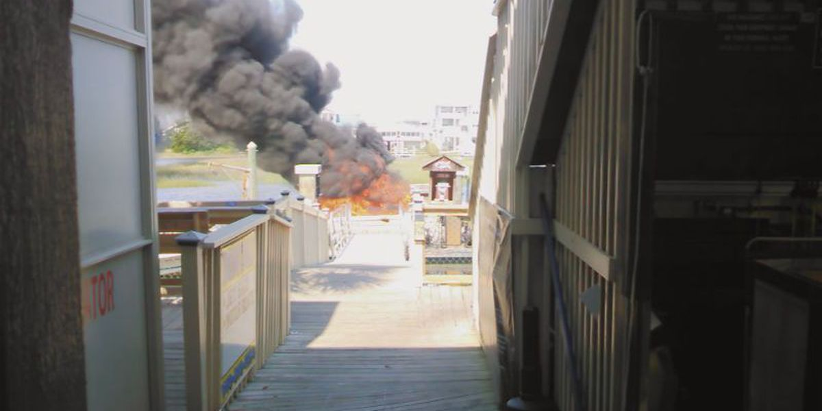 Two men from Charlotte injured in boat explosion in Ocean Isle Beach