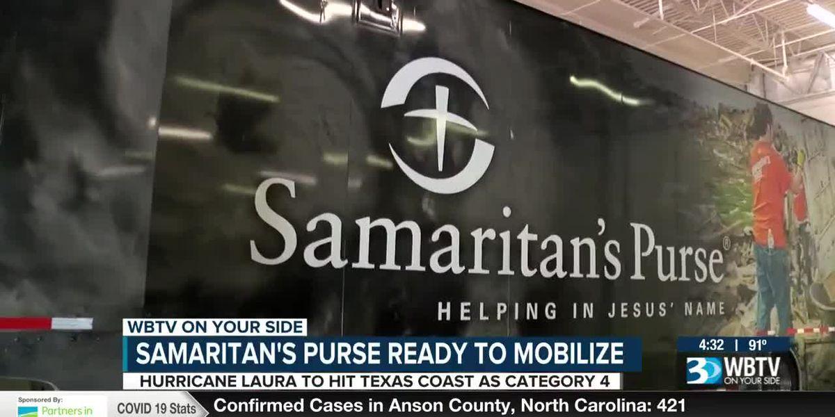 Samaritan's Purse says it is ready to respond to Hurricane Laura