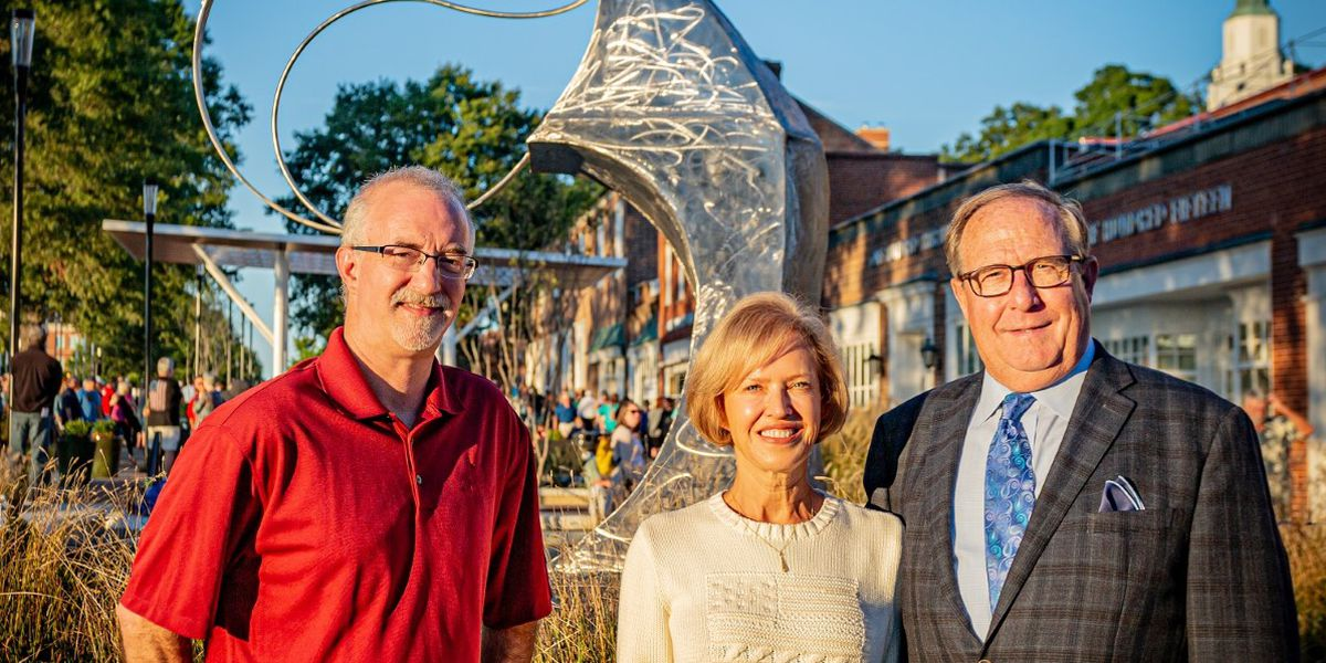 Kannapolis receives gifts of public art