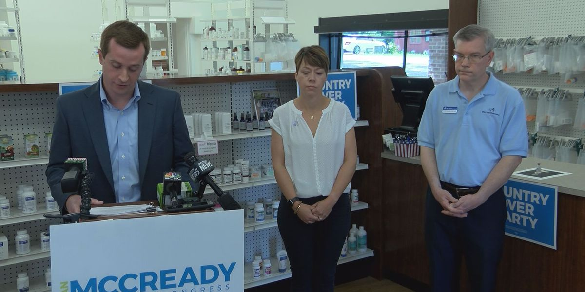 McCready announces plan to lower Rx prices, bashes Bishop on healthcare record