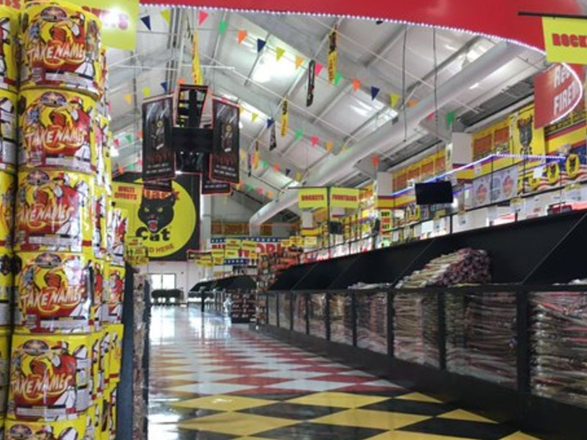 Fireworks stands seeing booming sales in Fort Mill